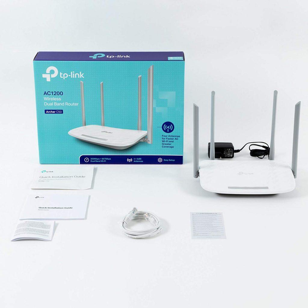 router Wi-Fi TP-Link Archer C50 AC1200